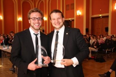 Marcus Ewald und Thorsten Rössing aus Halle (c) Hercher für die ZEIT