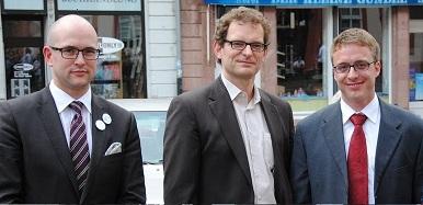 Jan Lüken, Alexander Stock, Marcus Ewald