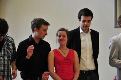 Simon Lehle, Sarah John und Steffen Jenner aus Tübingen (c) privat