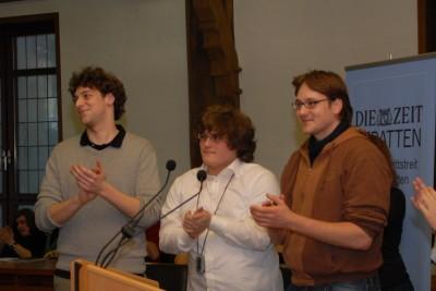 Die Sieger vom Debattierclub Mainz