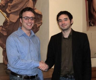 Marcus Ewald (VDCh) und Christopher Sanches (DSG)